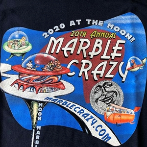 2020 Marble Crazy Tshirt - adult large