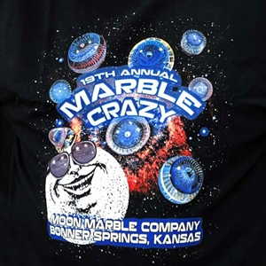 2019 Marble Crazy Tshirt - adult 3X large
