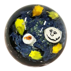 "*Bruce Breslow - ""Paperweight Style Marble"""