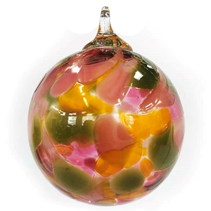 Pink and Green Chip Classic Ornament