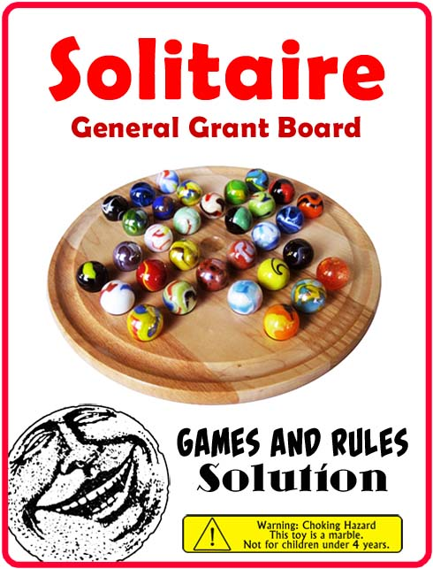 Instructions for General Grant Solitaire