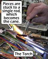 Making the Cane