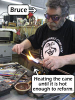 Heating the Cane