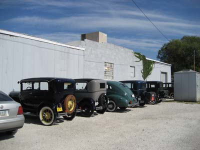 Classic Cars Fill our Parking Lot