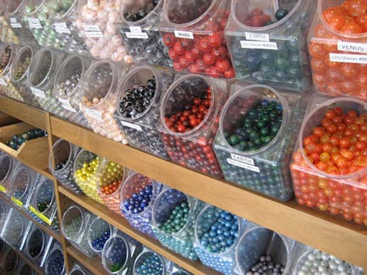 Wall of Marbles
